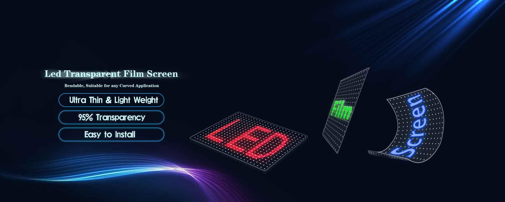Transparent Led Film Screen