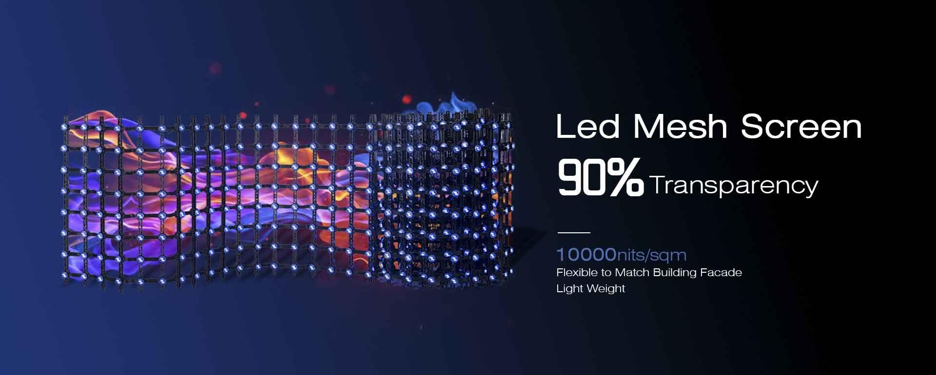 Flexible led Mesh Screen