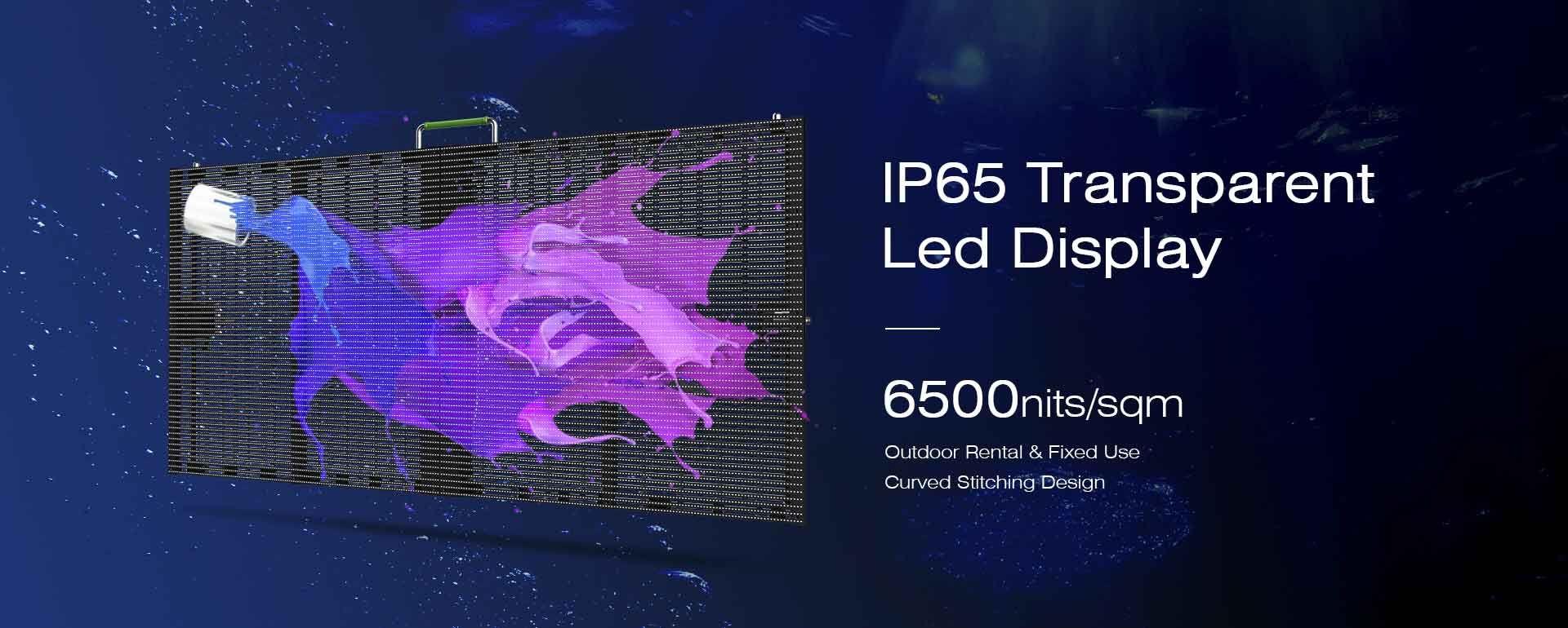 Outdoor LED Transparent Screen
