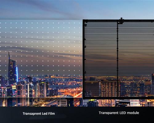 transparent soft film screen