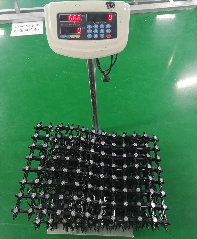 Lightweight led mesh display