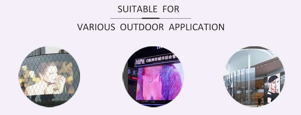 Outdoor Transparent Led Display