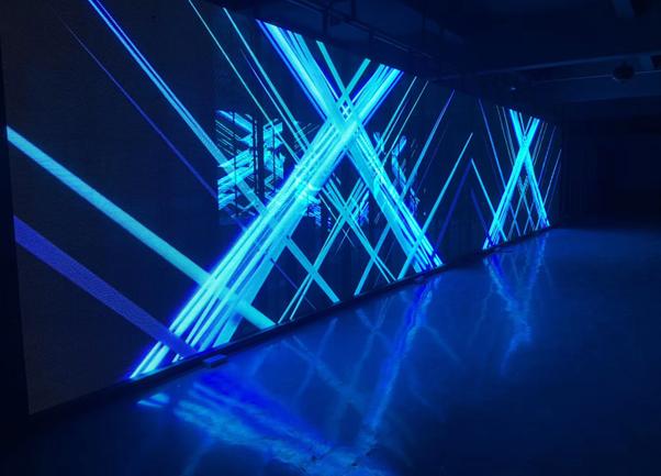 LED transparent screen