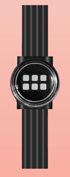 6dots flexible LED mesh screen