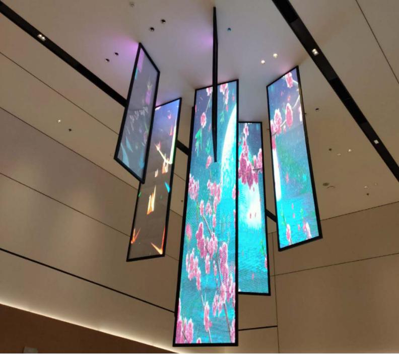 Advertising Adhesive Transparent Led Display