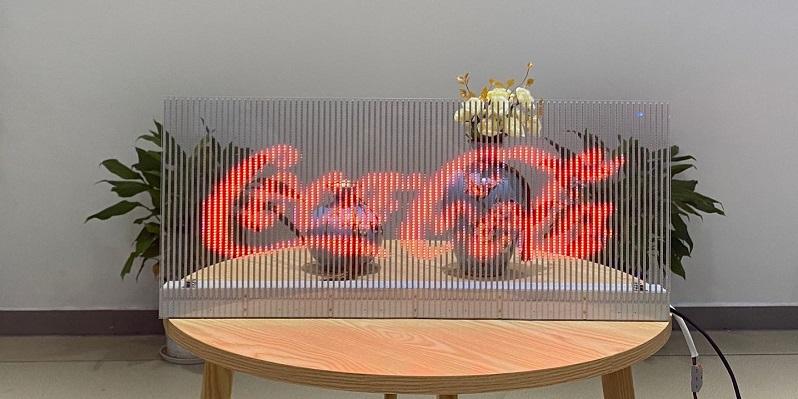 Car Rear Window Advertising Transparent Led Display