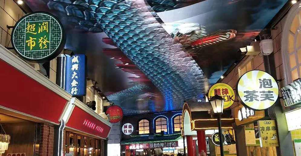 Guiyang Subway Sky Screen