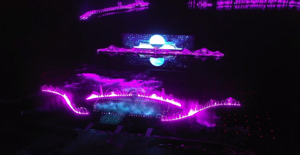 Large Cultural Performances in Jinyang Lake