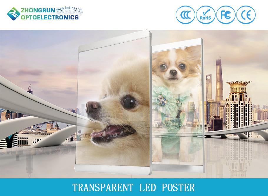 Transparent Led Poster