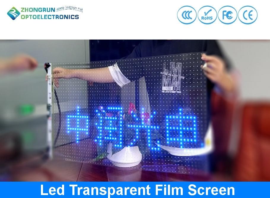 Led Transparent Film Screen