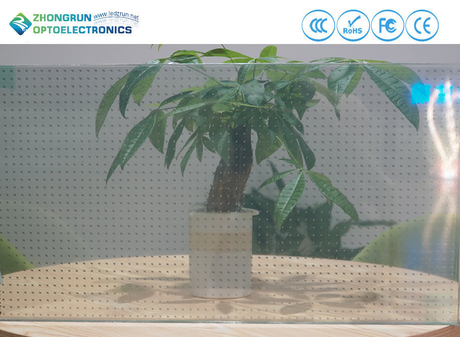 Guardrail Transparent Led Screen